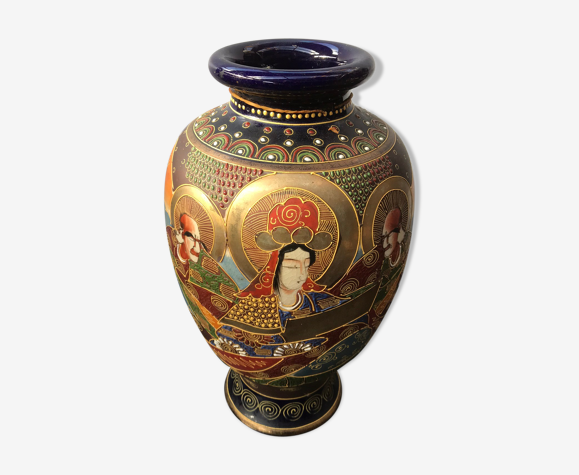 Satsuma pottery vintage Satsuma Pottery