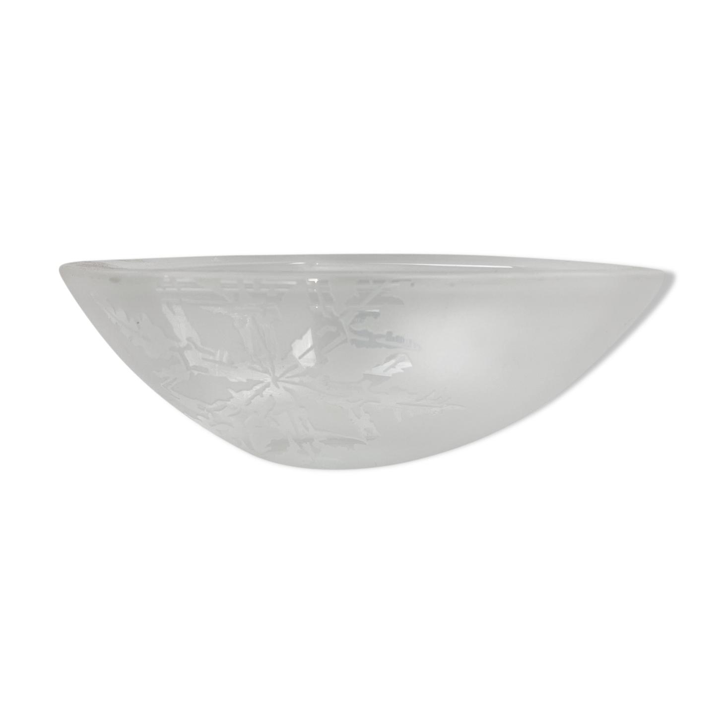Vide-poche cristal Villeroy&Boch motif flocons