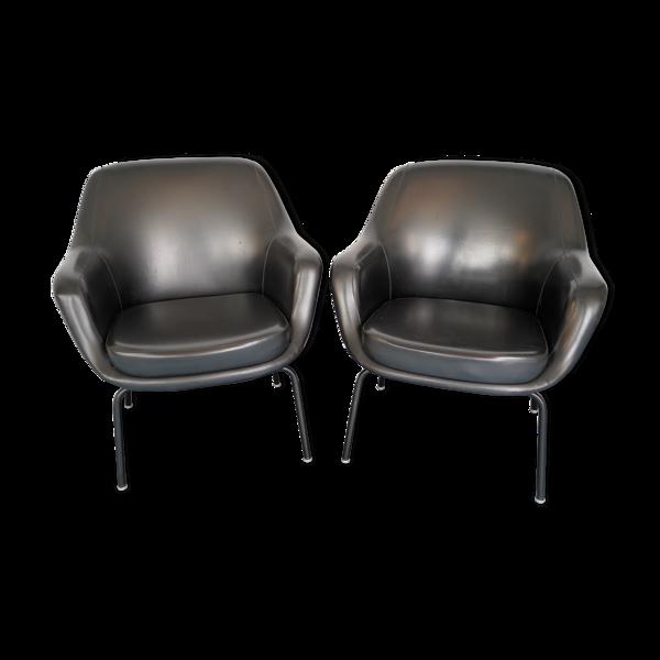 Paire de fauteuils Olli Mannermaa par Cassina, Italie, années 1960