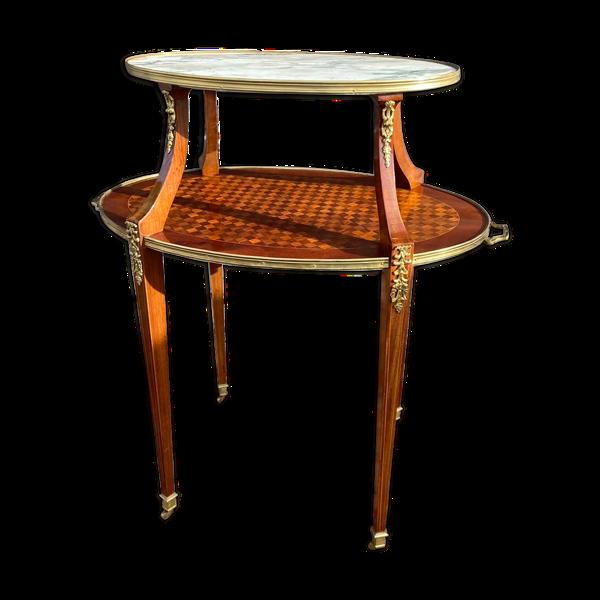 Table à thé de style Louis XVI XIX eme siècle