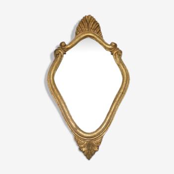 Miroir de style louis xv - 40x23.5 cm
