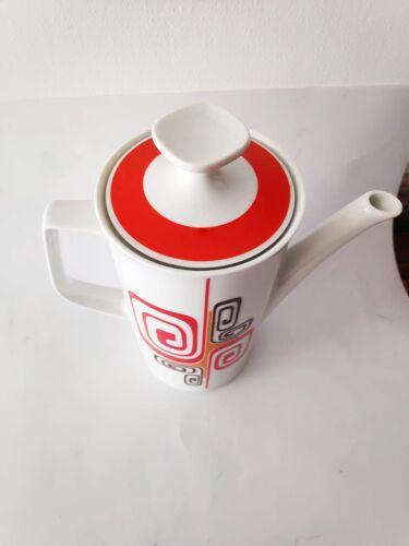 Pichet cafetière vintage porcelaine 70s