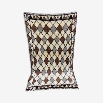 Tapis berbère mosaïque 135 x 76 cm