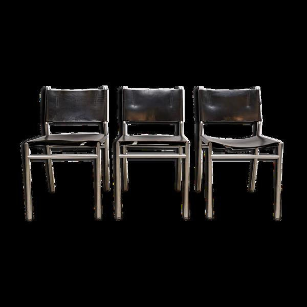 Selency 3 chaises à manger hollandaises Martin Visser 'T Spectrum SZ06