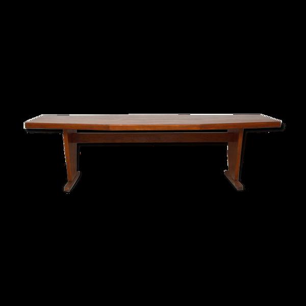 Selency Table bistrot polygonale en teck