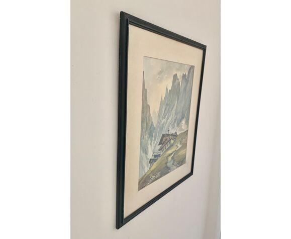 Peinture de paysage, années 1950
