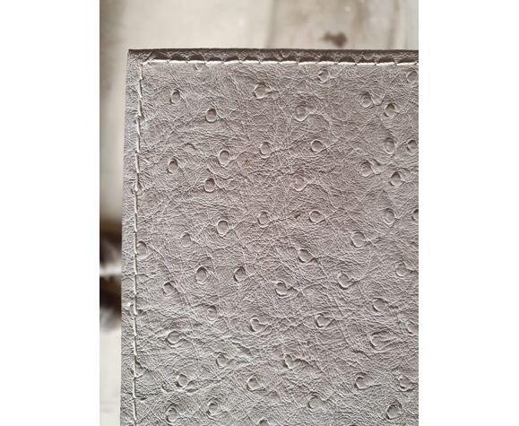 Console moderne grise