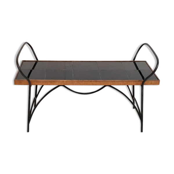 Table basse 1950 vintage