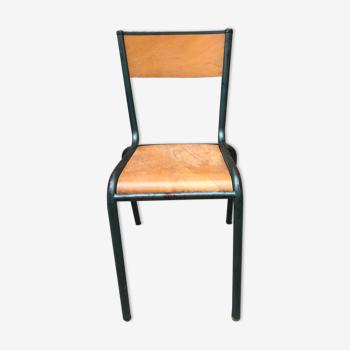 75 chaises d'école Mullca 510 années '60