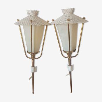 Paire de lanternes de la maison Arlus