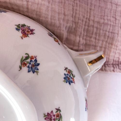 Soupière légumier en porcelaine de Limoges