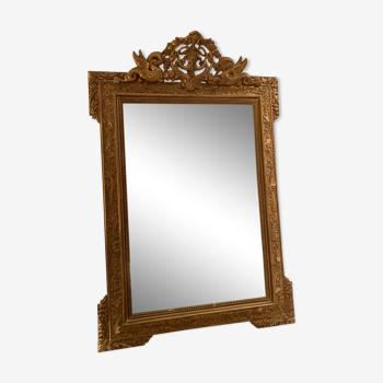 Miroir doré années 1900 73x110cm
