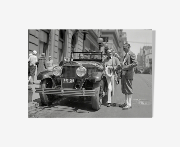 "Photographie ""St-Francis-Hôtel"" San Francisco 1927    /   N&B   /    15 x 20 cm"
