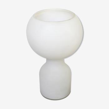 Lampe d'ambiance Tobrouk en verre soufflé moulé_ Jean-Paul Emonds_Alt pour Philips _1960