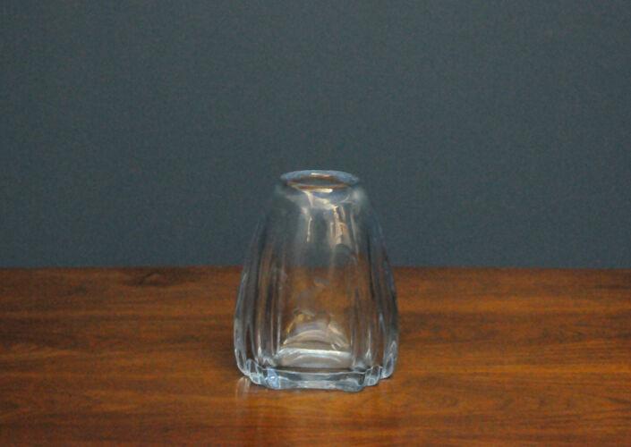 Vase scandinave en verre