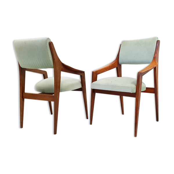 Paire de fauteuils scandinaves 1960