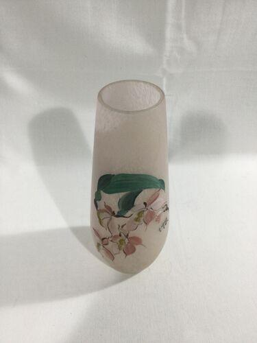 Vase pâte de verre A.Naudy