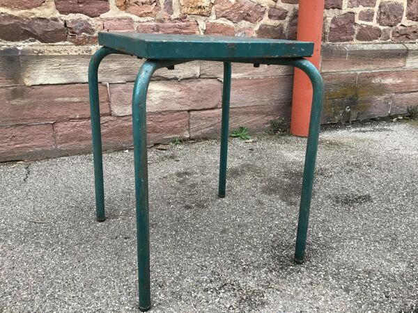 Ancienne table bistrot 1960