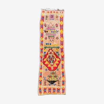 Tapis berbere Boujaad couloir 100x385 cm