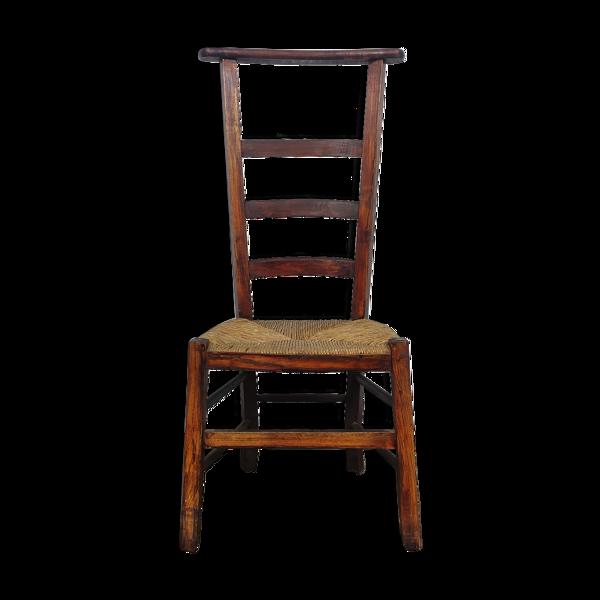 Chaise de prière ancienne