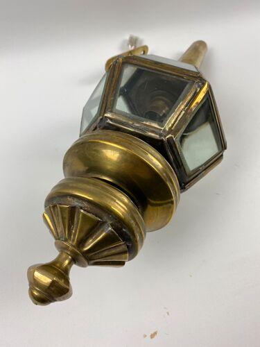 Applique en laiton style torche 42cm