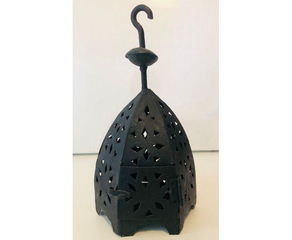 Moroccan black lantern