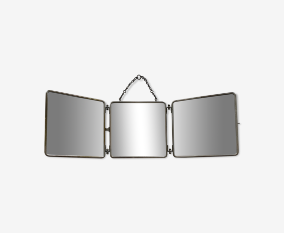 Miroir triptyque ancien