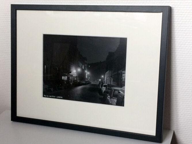 Photographie vintage rue du Chateau Landon Paris 1965