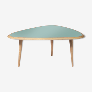 Table fifties small mineral green