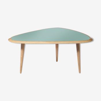 Table fifties small vert minéral