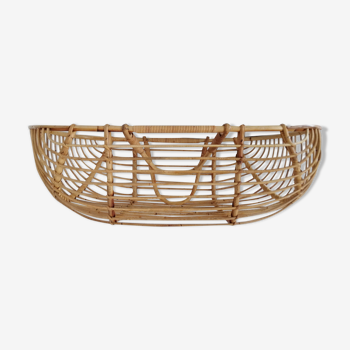 Baby rattan baby couffin