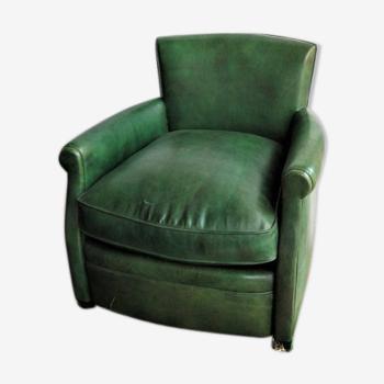 Fauteuil club vert