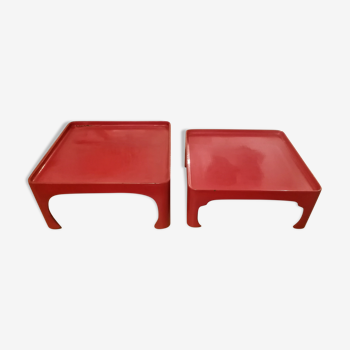 Pair of Japanese coffee tables