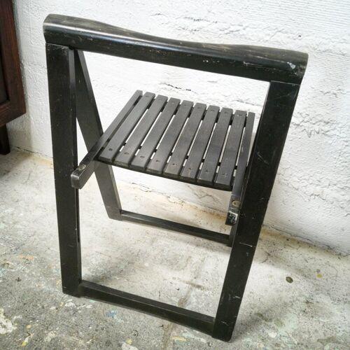 Chaise pliante années 60