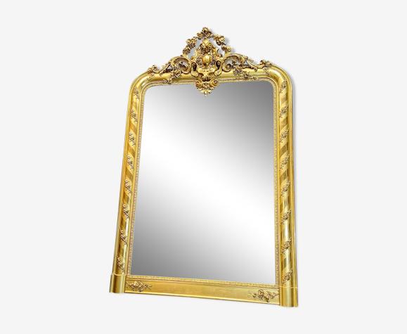 Miroir ancien 177x117 cm d époque Napoléon III très bon état