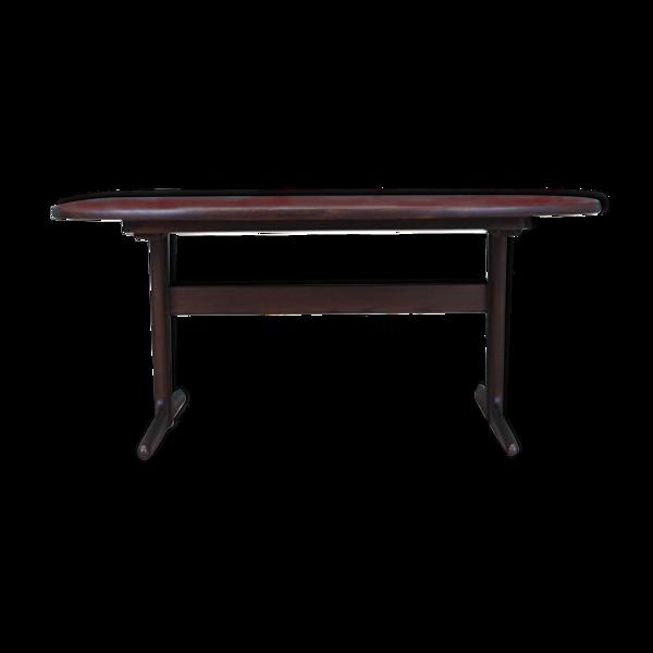 Table en chêne, années 60, design danois, production: Skovby Møbelfabrik