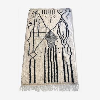 Tapis azilal, tapis berbère 265x155cm