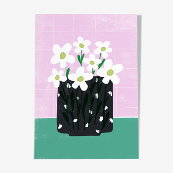 Illustration « marguerites »