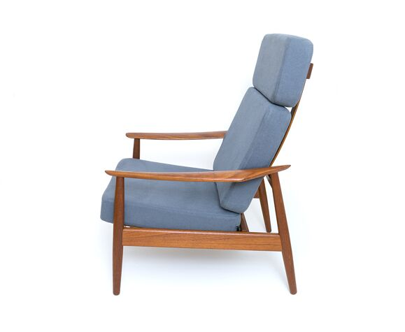 Armchair Fd 164 Designed By Arne Vodder For Cado, France & Son NO.2