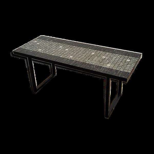 Table basse céramique années 50
