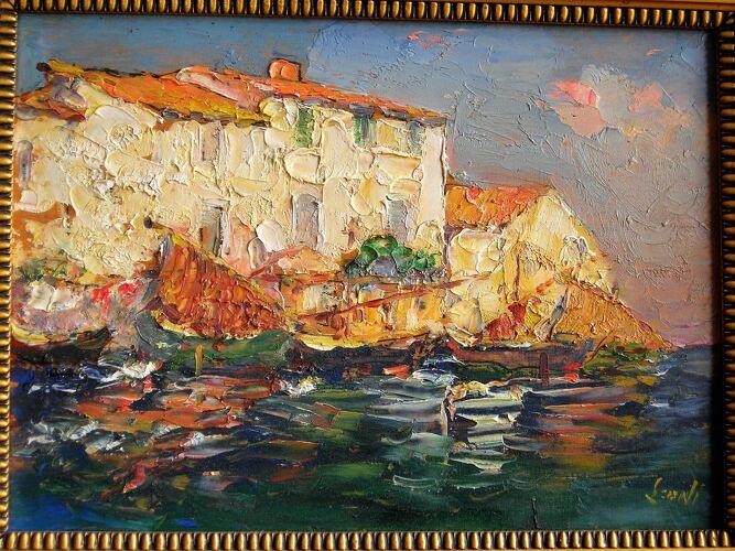 Martigues la petite Venise provençale 1929 Léoni
