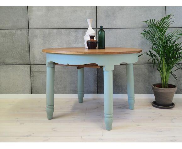 Table en frêne, design suédois, années 50
