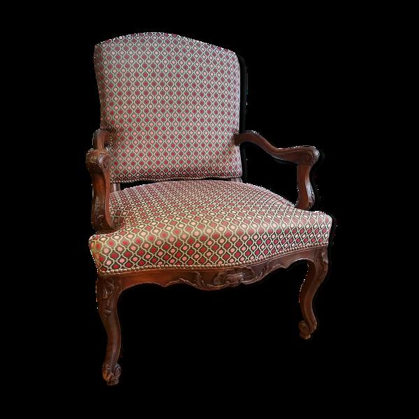 Fauteuil à la reine époque Régence XVIIIème siècle
