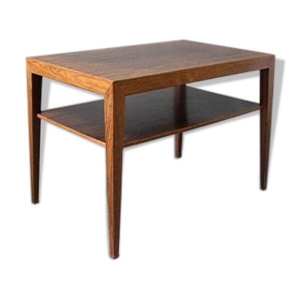 Table with shelf by Severin Hansen 60s