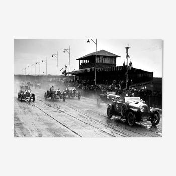 """Photographie, """"Les 24 heures du Mans"""", 1923"""