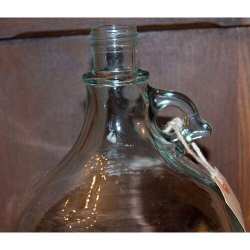 Bonbonne en verre avec poignée