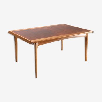 """Table à manger extensible De Coene """"Madison"""" - années 1960"""
