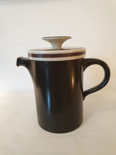 Cafetière théière rosenthal germany siena brown années 1970