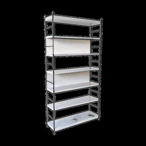 Design style Dutch 1960s metal shelf