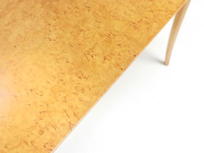 Table basse par Bruno Mathsson Annika Birdseye Maple